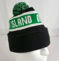 Goose Island Beer Company Knit Beanie Pom Winter Stocking Cap Hat Black ... - $12.95