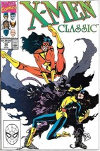 X-Men Classic Comic Book #52 Marvel Comics 1990 VERY FINE+ NEW UNREAD - $2.50