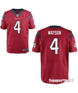 NFL Houston Texans 4 Deshaun Watson Red American Football Jersey - $40.00