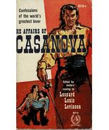 The Affairs of Casanova ~ Paperback 1958 ~ Pyramid #R316 - $6.99