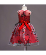 Red Birthday Girl Dress Short  Pricess Wedding Flower Girls Dresses Kids... - $45.33