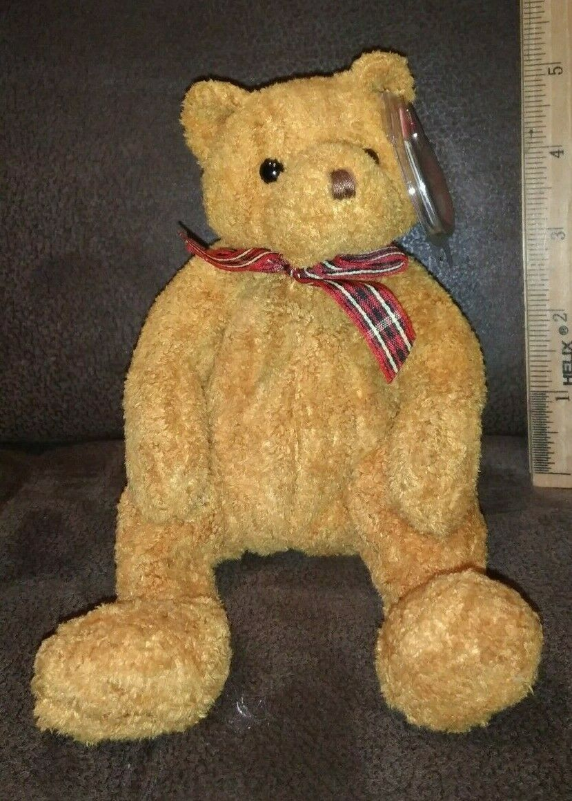 Primary image for TY Beanie Baby Woody The Bear With Tag Retired   DOB: January 28th, 2002