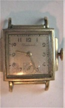 Vintage Watch for parts Boulevard Avia Mead Co 7 Jewels Swiss - $29.95