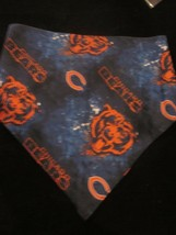 Nfl Chicago Bears Dog Bandana Hand Made Brand New - $4.99