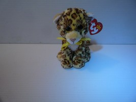 "Ty Beanie Babies Spotty Plush Leopard 6"" Sparkle Eyes 2015 MINT  - $5.00"