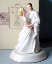 Lenox Opal Innocence Bride & Groom Wedding Cake Topper Figurine $115 New... - $45.90