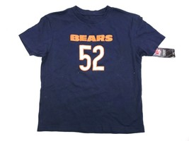 Chicago Bears NFL Football T-Shirt Khalil Mack #52 Boy's Size M 5/6 - $14.95