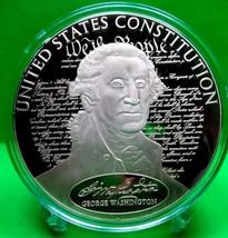 COLOSSAL GEORGE  WASHINGTON  COMMEMORATIVE  COIN - $116.10