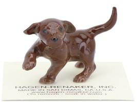 Hagen Renaker Dog Labrador Retriever Puppy Chocolate