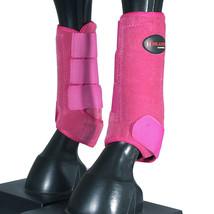 L M S Hilason Horse Front Leg Ultimate Sports Boots Pair Pink U-0PNK - $49.95