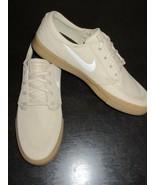 Nike Mens Zoom Air Janoski Canvas RM Skate Shoes Grain Beige Sail Size 9... - $83.29