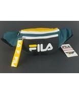 Fila Fanny Pack Waist Bag Retri Green Yellow White New Adjustable Strap  - $28.66