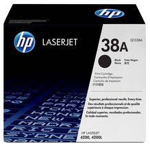 Genuine HP 38A (Q1338A) Black Original Toner Cartridge Bin: 1 - $161.99