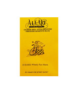 A La Art Stamp Crafters Wheely Fast Mama Rubber Cling Stamp #D02-002U - $4.45