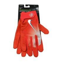 Nike Huarache Elite Baseball Batting Gloves Orange Size Large NEW PGB543-864 - $39.55