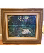 Original Acrylic Painting By Artist Marleen Olive TRANQUILITY AT TWILIGH... - $195.00