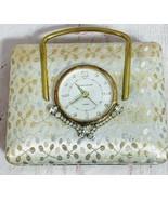 Vintage 1950's Semca Alarm Clock/Jewelry Case - $81.00