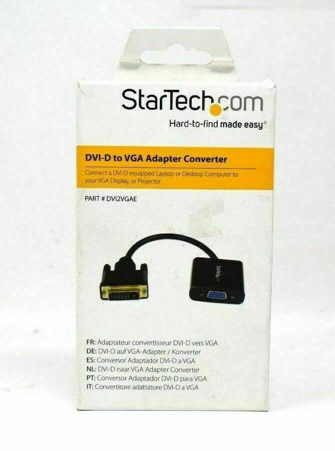 Primary image for Startech DVI-D to VGA Active Adapter Converter Cable 1920x1200 New In Box
