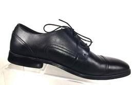 Florsheim Mens Oxfords Size 8 D Cap Toe Black Lace up Dress Shoes - $44.87