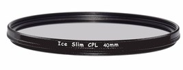 ICE Slim CPL 40mm Filter Polarizer Optical Glass for Fuji Fujifilm X10 X... - $12.82