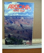 Arizona Road Map Produced by Arizona Highways Magazine - $7.19
