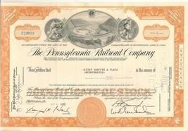 The Pennsylvania Railroad Company Stock Certificate 1 Share - $1.99