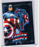 2015 SDCC EXCLUSIVE UPPER DECK MARVEL EMBEDDED PATCH CARD CAPTAIN AMERIC... - $16.82