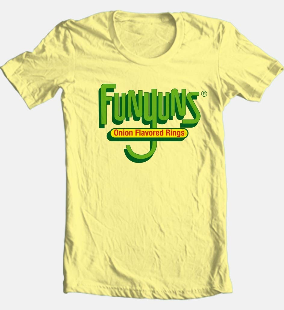141dd252 Funyons T-shirt cool funny retro 80's vintage brand 100% cotton ...