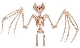 "Crazy Bonez Nocturnal Skeleton Bat, 36"" - $60.96"