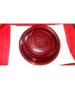 CORNING VISIONS CRANBERRY ROUND BAKING DISH BOWL WITH LID V-30-B FREE US... - $23.36