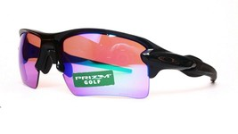 NEW Oakley Flak 2.0 Prizm Trail Sunglasses OO9188-06 Polished Black 59-12-133 M1 - $142.55