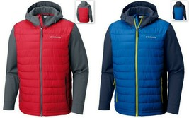 NEW Columbia Sportswear Men's Oyanta Trail Thermal Coil Hooded Hybrid Ja... - $89.99