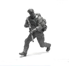 YUFAN Miniature 1/35 US Navy Seal Commando Soldier Resin Model Figure Ki... - $26.00