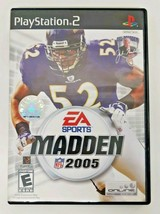 Madden NFL 2005 (Sony PlayStation 2 2004) Sports Pro Football Video Game... - $13.85