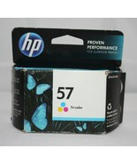 HP Ink Cartridge ~ 57 TriColor ~ Page Yield 520 ~ New in unopened package - $17.08