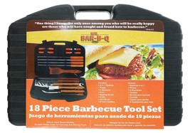 Mr. Bar-B-Q 94001X 18-Piece Stainless-Steel Barbecue Set with Storage Ca... - €25,18 EUR
