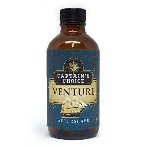 Captain's Choice VENTURE Aftershave - 4 oz.