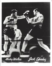 Jack Sharkey Vs Mickey Walker 8X10 Photo Boxing Picture - $3.95