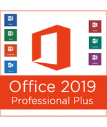Microsoft Office Professional Plus 2019 for 1 Pc -Official MS download - $34.99
