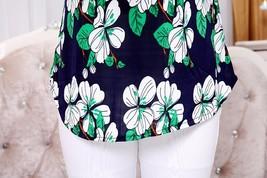"5XL 2018 women summer tops tees ladies short t shirt Women""s Boat anchor t-shirt image 5"