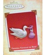 Hallmark Primera Navidad De Bebe 2004 - $6.93