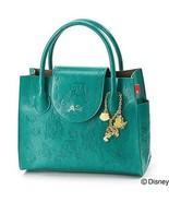 Disney ROOTOTE Little Mermaid Ariel Embossed Tote Bag Emerald Green Hand - $133.65