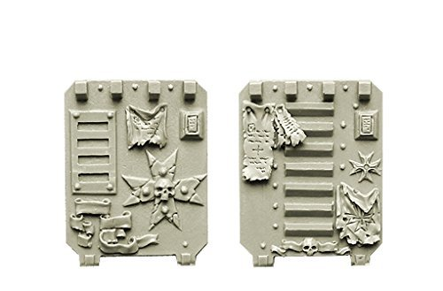 Spellcrow Conversion Bits Doors for Light Vehicles Templar Space Knights