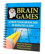 Brain Games #1: Lower Your Brain Age in Minutes a Day [Spiral-bound] Edi... - $11.83