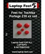Laptop Feet for Toshiba Portege Z30 xx compatible kit ( 5 pcs self adhes... - $11.52