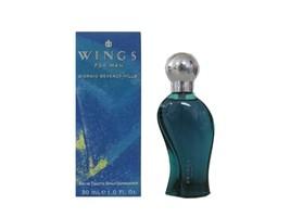 Wings 1.0 oz Eau de Toilette Spray MEN (No Cellophane) by Giorgio Beverly Hills - $8.95