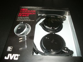 JVC HANC120 Noise Cancelling Headphones - Black - $1.062,36 MXN