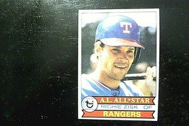 1979 TOPPS TEXAS RANGERS A.L. ALL STAR RICHIE ZISK #260 TRADING CARD - $4.46