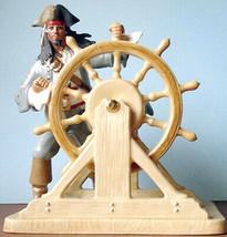 Lenox Disney Captain Jack Sparrow Pirates of The Caribbean New In Box - £206.31 GBP