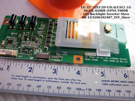 LG 6632L-0208B Backlight Inverter Board Slave [See List] - $23.00
